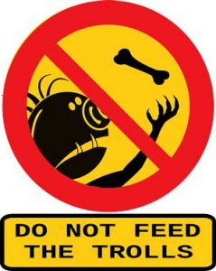 no alimentes un troll